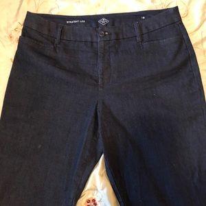 Worn Once! Dark Denim Casual Pants Super Stylish!